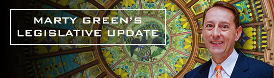 Marty Green's Legislative Update